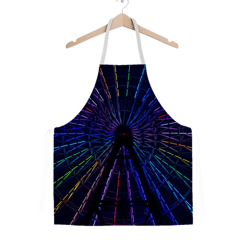 alloverprint.it Apparel One Size Overall Print Apron - Ferris Wheel