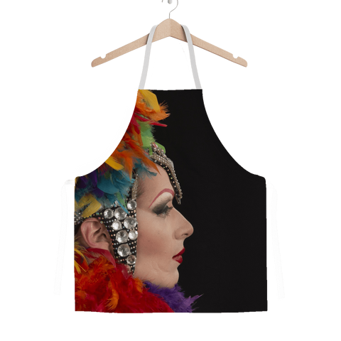 alloverprint.it Apparel One Size Overall Print Apron - Mardi Gras