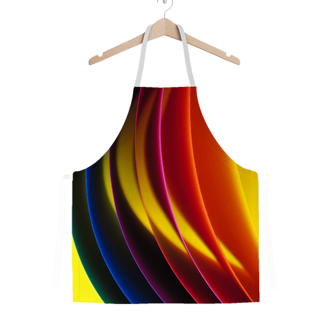 alloverprint.it Apparel One Size Overall Print Apron - Pride Arc
