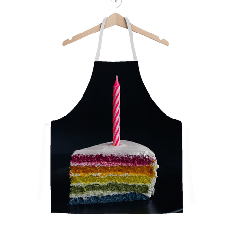 alloverprint.it Apparel One Size Overall Print Apron - Pride Cake