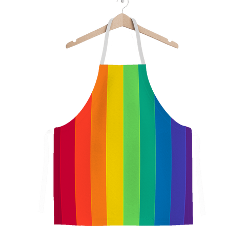 alloverprint.it Apparel One Size Overall Print Apron - Pride Flag