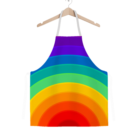 alloverprint.it Apparel One Size Overall Print Apron - Pride Rainbow