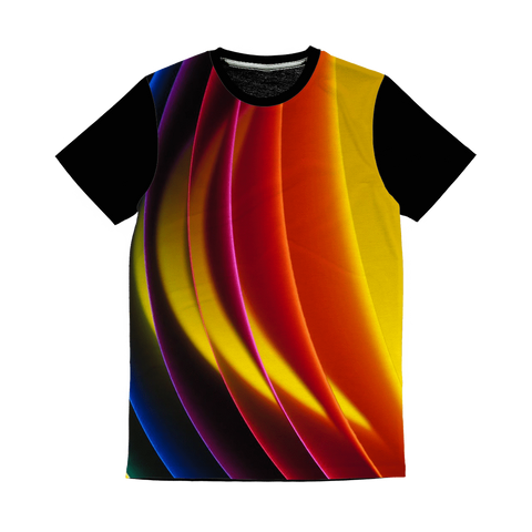 alloverprint.it Apparel XS Overall Print Panel Tee Shirt - Pride Arc