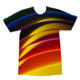 alloverprint.it Apparel XS Overall Print Recycled Tee Shirt - Pride Arc