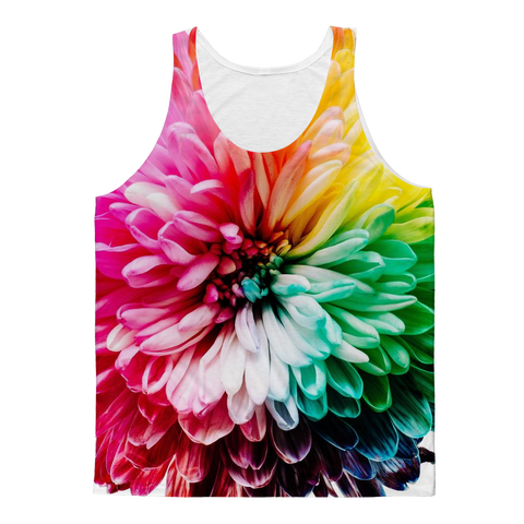 alloverprint.it Apparel XS Overall Print Tank Top - Dahlia