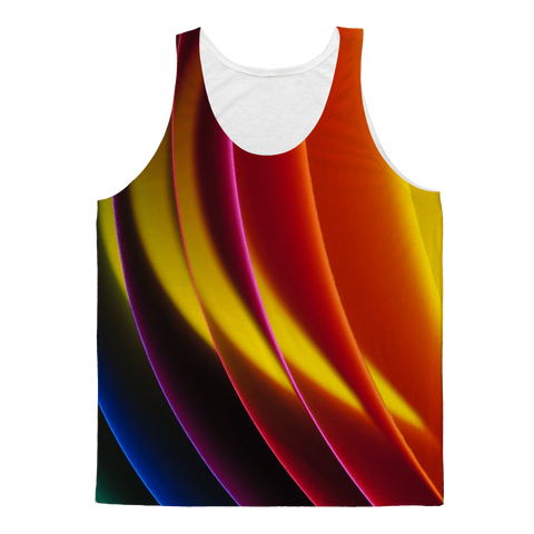 alloverprint.it Apparel XS Overall Print Tank Top - Pride Arc