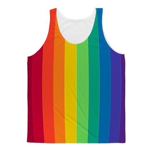 alloverprint.it Apparel XS Overall Print Tank Top - Pride Flag