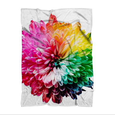 "alloverprint.it Homeware 51""X69"" Overall Print Fleece Blanket - Dahlia"