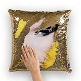 alloverprint.it Homeware Gold / White Overall Print Mermaid Sequin Pillow - Drag Queen