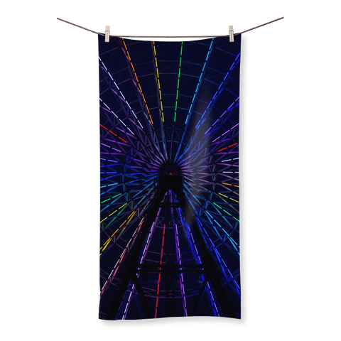 alloverprint.it Homeware (XL) Beach Overall Print Beach Towel - Ferris Wheel