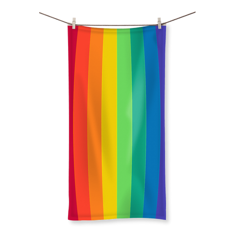 alloverprint.it Homeware (XL) Beach Overall Print Beach Towel - Pride Flag