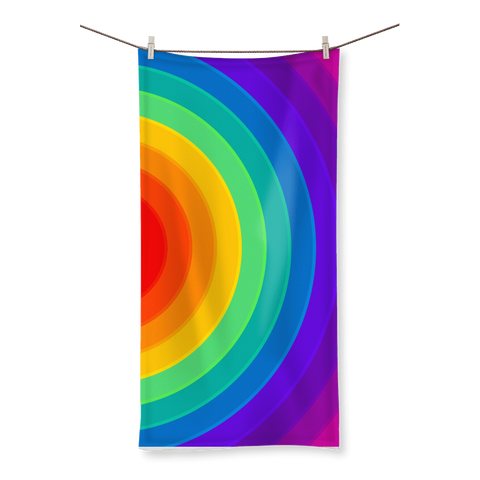 alloverprint.it Homeware (XL) Beach Overall Print Beach Towel - Pride Rainbow