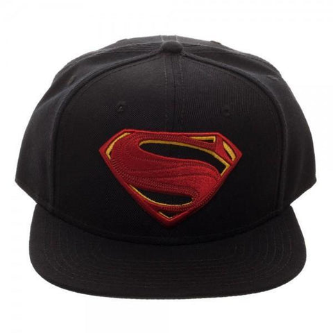 Core Line Superman Icon Embroidered Snapback Cap Maletropolis