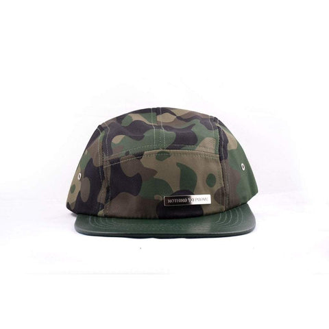 Dome5 Men - Accessories - Hats Get A What What 5-Panel Hat - Camo