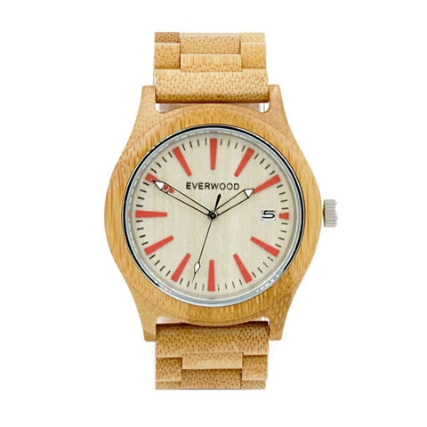 Everwood Watch Company Men - Accessories - Watches Everwood Kylemore Watch - Bamboo