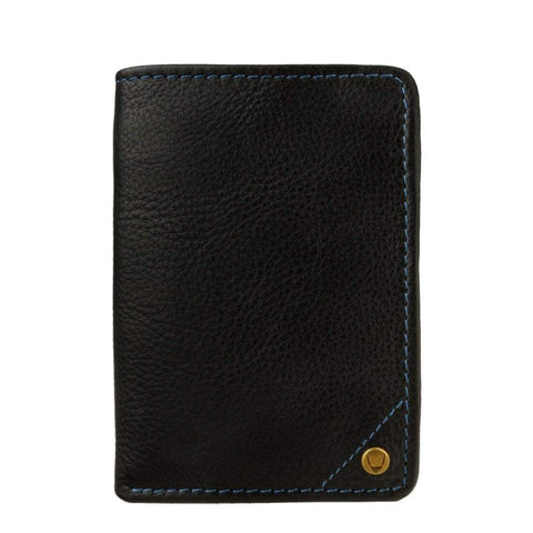 Hidesign Men - Accessories - Wallets & Small Goods Default Title Angle Stitch Leather Slim Trifold Wallet