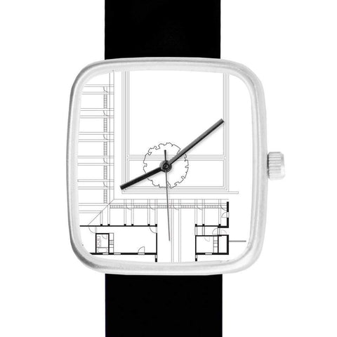 May28th Men - Accessories - Watches Architect's Floor Plan Watch