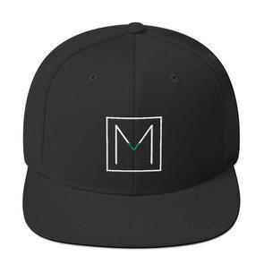 Men - Accessories - Hats Mogul Snapback Cap - Black Maletropolis