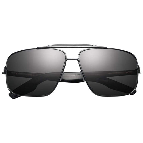 Men - Accessories - Sunglasses IVI Vision Custer Sunglasses - Matte Black