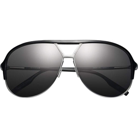 Men - Accessories - Sunglasses IVI Vision Division Sunglasses - Polished Black/Chrome