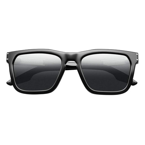 Men - Accessories - Sunglasses IVI Vision Gravitas Sunglasses - Polished Black/Brushed Aluminum