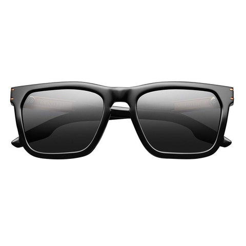 Men - Accessories - Sunglasses IVI Vision Gravitas Sunglasses - Polished Black/Copper