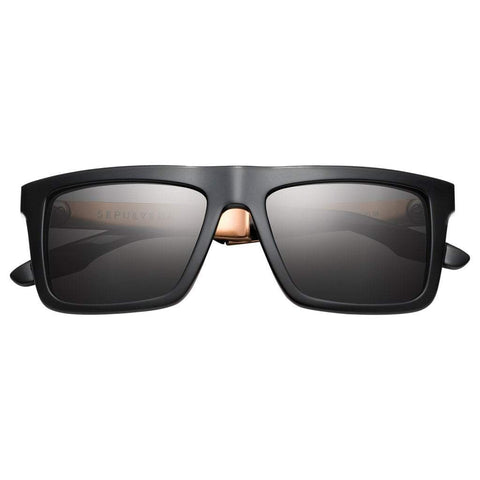 Men - Accessories - Sunglasses IVI Vision Sepulveda Sunglasses - Polished Black/Copper