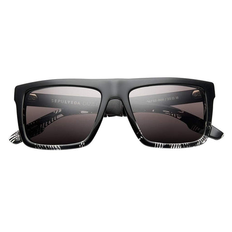 Men - Accessories - Sunglasses IVI Vision Sepulveda Sunglasses - Polished Dazzle/Brushed Black