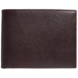 Men - Accessories - Wallets & Small Goods Saffiano Leather Billfold Wallet - Brown
