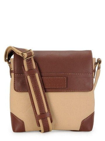 Men - Bags - Crossbody Phive Rivers Cross-Body Messenger Bag - Khaki Maletropolis