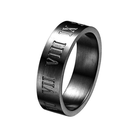 Mister SFC Men - Jewelry - Rings Black / 5 Roman Ring