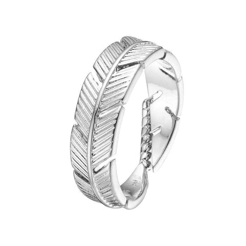 Mister SFC Men - Jewelry - Rings Chrome / 7 Feather Ring
