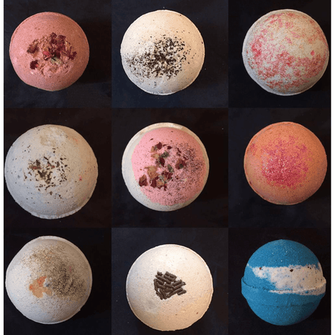 mooi lab Beauty - Men's - Bath & Body Default Title 5 Assorted Bath Bombs