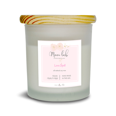 mooi lab Home - Candles Love Spell Soy Candle