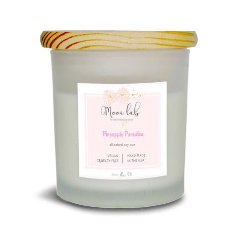 mooi lab Home - Candles Pineapple Paradise Soy Candle
