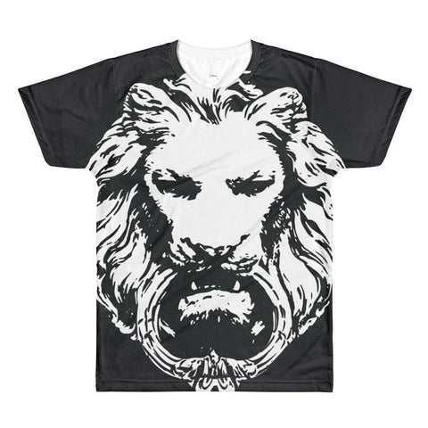 No Fixed Abode Men - Apparel - Shirts - T-Shirts XS No Fixed Abode Large Lion Print Tee Shirt - Black