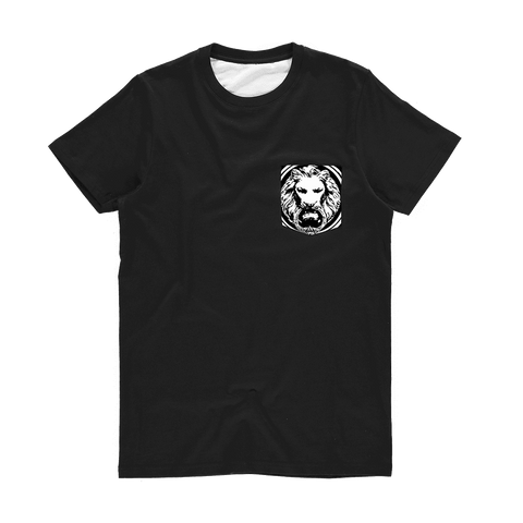 No Fixed Abode Men - Apparel - Shirts - T-Shirts XS No Fixed Aboded Lion Pocket Tee Shirt