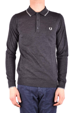 Polos - MAN Fred Perry Long Sleeve Polo