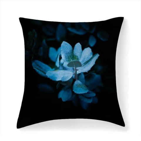 Printy6 Pillow 14''x14'' / Only Pillow Case Overall Print Pillow - Blue Lily