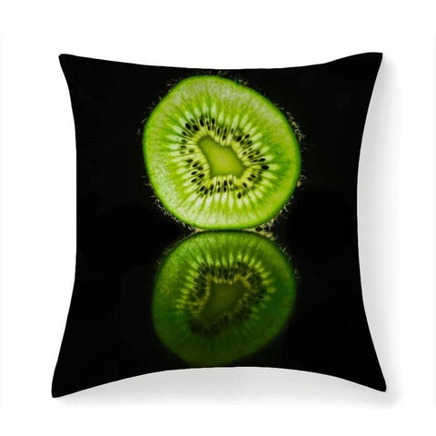 Printy6 Pillow 14''x14'' / Only Pillow Case Overall Print Pillow - Kiwi