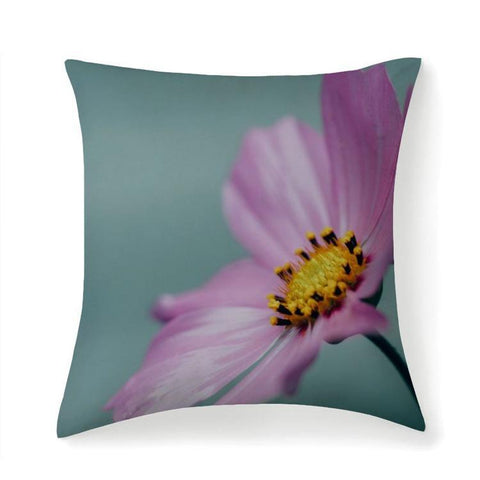 Printy6 Pillow 14''x14'' / Only Pillow Case Overall Print Pillow - Purple Poppy
