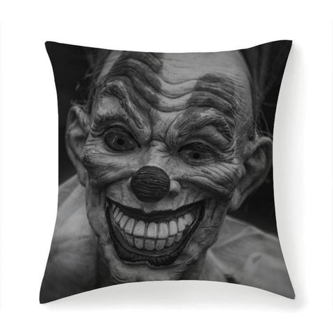 Printy6 Pillow 14''x14'' / Only Pillow Case Overall Print Pillow - Scary Clown