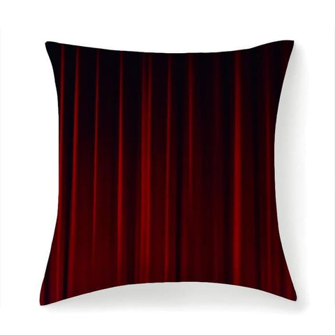 Printy6 Pillow 14''x14'' / Only Pillow Case Overall Print Pillow - Theater Curtain