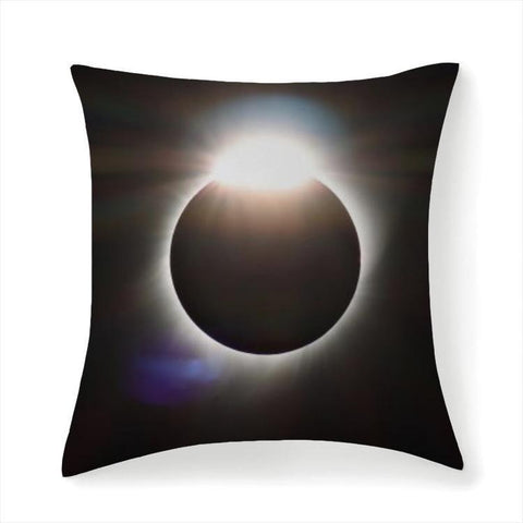 Printy6 Pillow 14''x14'' / Only Pillow Case Overall Print Pillow - Total Eclipse
