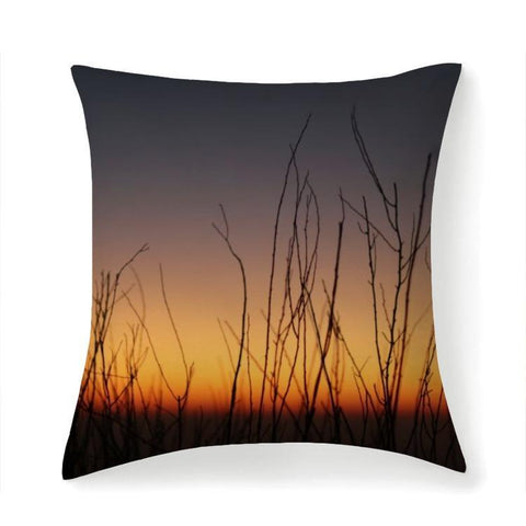 Printy6 Pillow 14''x14'' / Only Pillow Case Overall Print Pillow - Twigs