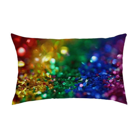 Printy6 Pillow 16''x24'' / Only Pillow Case Maletropolis Pride Pillow - Confetti