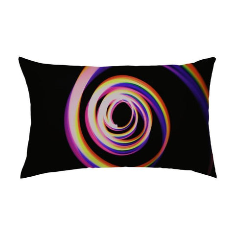 Printy6 Pillow 16''x24'' / Only Pillow Case Maletropolis Pride Pillow - Spiral