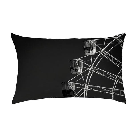 Printy6 Pillow 16''x24'' / Only Pillow Case Overall Print Pillow - Ferris Wheel