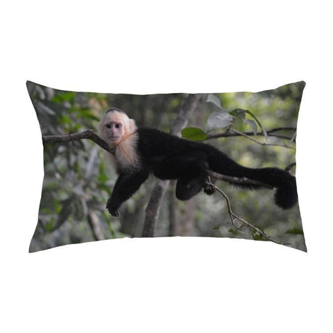 Printy6 Pillow 16''x24'' / Only Pillow Case Overall Print Pillow - Monkey