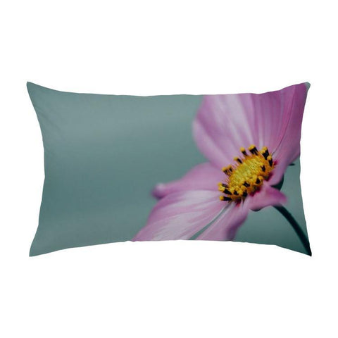 Printy6 Pillow 16''x24'' / Only Pillow Case Overall Print Pillow - Purple Poppy